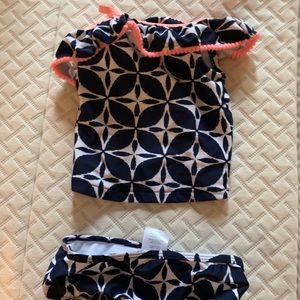 One shoulder 12 mos swimsuit